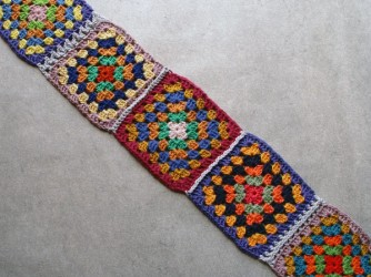 Granny squares from Crochet a Classic!