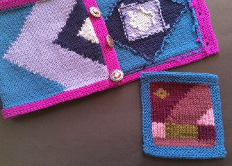 Samples from Intarsia Ins and Outs