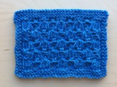Swatch: Harebell Lace (mult of 6 sts +3; 12 rows)