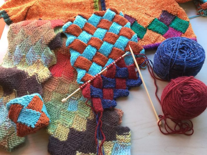 Entrelac Beginnings class photo