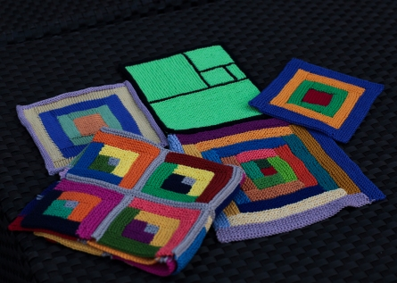 log cabin blocks